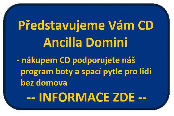 Štítek na web Ancilla Domini